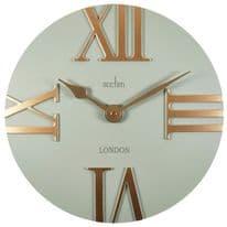 Acctim Prestwick Wall Clock - Stone